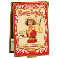 ZSold Boss Lady by Blue Q: Mirror Compact  DISCONTINUED SOLD
