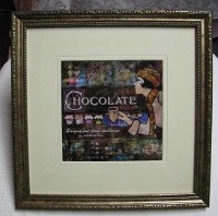 Evie Cook Digital Prints: Chocolate Ivory Matte SOLD