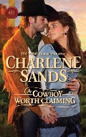 ZSold BKFCT Charlene Sands: A Cowboy Worth Claiming SIGNED SOLD