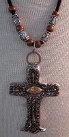 Cowgirl Heart Jewelry: Cross Old California Style with Beads