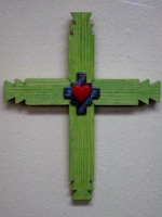 Casa Tranquila Designs: Cross Southwest Large With Notched Ends Special Order