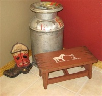 Cowboy Brand Furniture: Step Stool