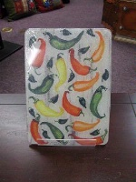ZSold TXLC Custom Tile Cutting Board Southwestern: Chili Toss SOLD