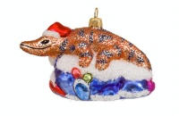 ZSold Artistry of Poland Ornament: Southwest Christmas Shopper SOLD