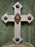 Casa Tranquila Designs: Cross Southwest Large Clavos