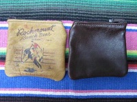 ZSold Rockmount Ranch Wear Accessory: Leather Coin Purse Brown SOLD