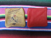 ZSold Rockmount Ranch Wear Accessory: Leather Coin Purse Red SOLD