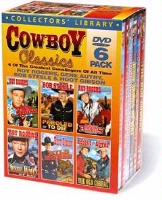 DVD Silver Screen Singing Cowboys: Cowboy Classics 6 DVD Set