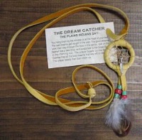 A Navajo Necklace: Dream Catcher