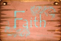 Cowboy Brand Furniture: Wall Sign-Faith-FAITH