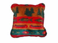 Denali® Rustic Collection: Fish Lodge Pillow