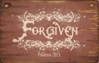 Cowboy Brand Furniture: Wall Sign-Faith-FORGIVEN