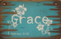 Cowboy Brand Furniture: Wall Sign-Faith-GRACE