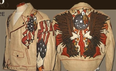 A Ira Hoss for Volcano: The Eagle Flies Lamb Beige S-2XL Special Order