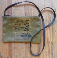 ZSold Rockmount Ranch Wear Accessory: Leather Shoulder Bag Logo Tree SOLD