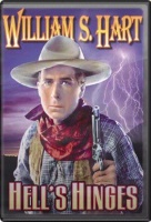 ZSold DVD Silent William S. Hart: Hell's Hinges SOLD