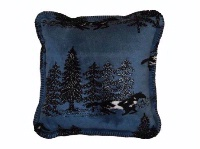 Denali® Western Collection: Horse Flight Pillow