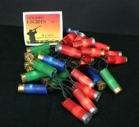 ZSold Decorative Lighting: Shotgun Shell Lights Multi or Red SOLD