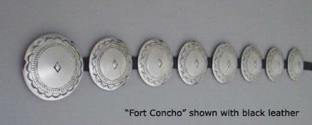 A Jules of the West Colossal Concho Belt: Fort Concho