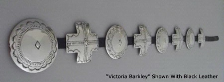 A Jules of the West Colossal Concho Belt: Victoria Barkley