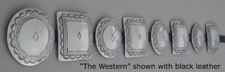 A Jules of the West Colossal Concho Belt: The Western