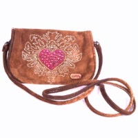 ZSold Kippys Belt Pouch Medium: Heart Design with Belt Loop Special Order SOLD