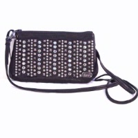 A Kippys Card Pouch Large: Adorned with Crystals