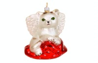 ZSold Artistry of Poland Ornament: Kitty Angel SOLD