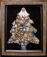 A Handmade Christmas Tree Large Plaque