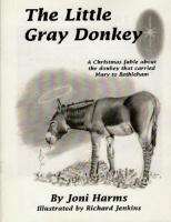 ZSale BKCH Joni Harms: The Little Gray Donkey Signed SALE