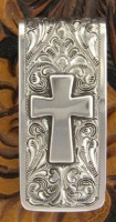 Silver King: Money Clip: The Cross Special Order