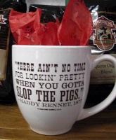 ZSold Side Saddle Mug: There Ain't No Time ... SOLD