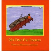 ZSale BKCH Gail Heath: No Time For Fishing Signed SALE