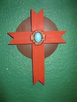 Casa Tranquila Designs: Cross Southwest Notched Special Order