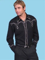 ZSold Scully Men's Vintage Western Shirt: Diamond Classic SOLD
