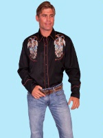 ZSold Scully Men's Vintage Western Shirt: Dream Catchers M SOLD