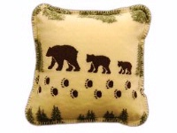 Denali® Rustic Collection: Denali Bear Pearl Pillow