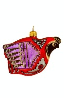 ZSold Artistry of Poland Ornament: Southwest Quail Special Order SOLD