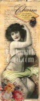 ZSold BookMarkCard Friends: Risque Charm...Forbidden things have a secret charm. SALE
