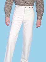 Scully Men's Old West Pant: Rangewear Pant Cotton Natural 28-42 Big/Tall 46-52 Unisex