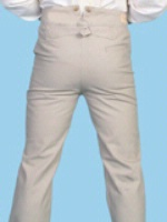 Scully Men's Old West Pant: Rangewear Pant Cotton Sand 28-42 Big/Tall 44-52 Unisex