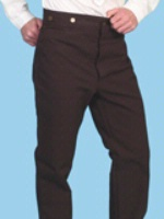 ZSold Scully Men's Old West Pant: Rangewear Pant Cotton Walnut 28-42 Big/Tall 44-52 Unisex SOLD
