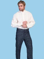 ZSold Scully Men's Old West Pant: Rangewear Pant Frontier Navy SOLD
