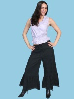 Scully Ladies' Old West Pant: Rangewear Bloomers Black
