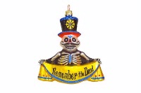 ZSold Artistry of Poland Ornament: Day of the Dead- Remember The Dead SOLD