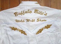 ZSold Rockmount Ranch Wear Men's Vintage Western Shirt: Buffalo Bill Ivory Brown S-XL SOLD