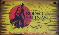 Cowboy Brand Furniture: Wall Sign-Rodeo-Rodeo Salinas