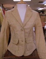 ZSold Scully Ladies' Leather Suede Jacket: Short Blazer Chamois SOLD