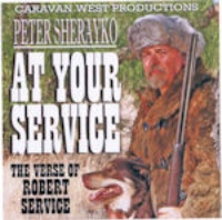SALE CD Poetry, Peter Sherayko: At Your Service, Radio Guest SALE