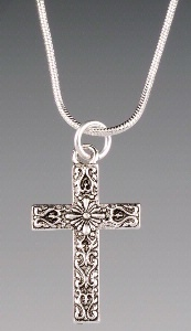A SALE Praying Collection: Cross Southwest on Chain 18 Inch SALE